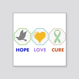 Hope Love Cure Sticker