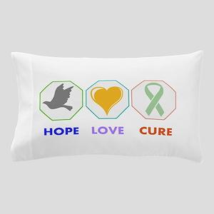 Hope Love Cure Pillow Case