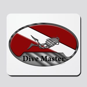 Dive Master (Oval) Mousepad
