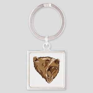 Roaring Bear Keychains