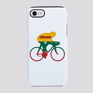 Lithuania Cycling iPhone 7 Tough Case