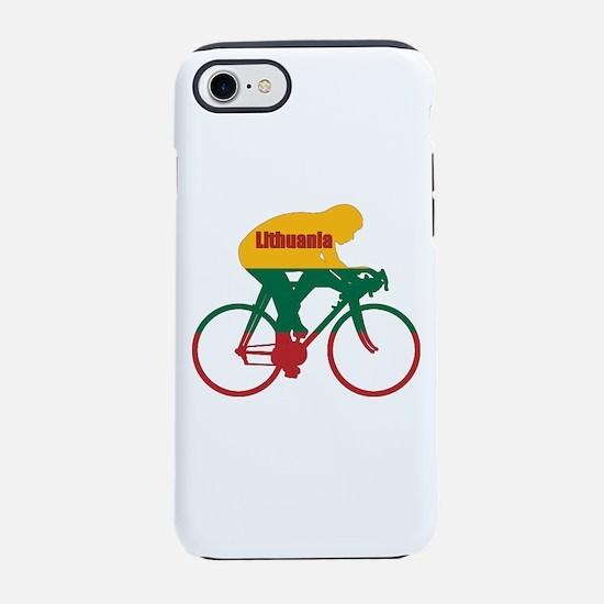 Lithuania Cycling iPhone 7 Tough Case
