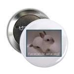 """Bunny Coat 2.25"""" Button (100 pack)"""
