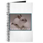 Bunny Coat Journal