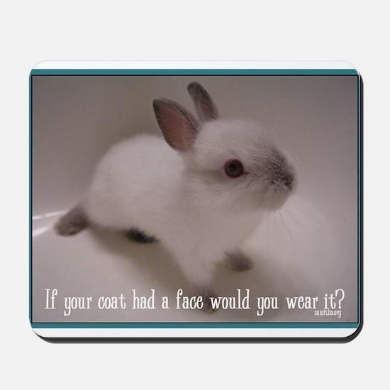 Bunny Coat Mousepad