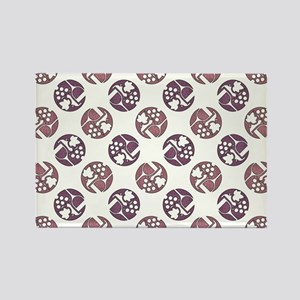 WINE & GRAPES Rectangle Magnet