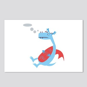 Puffing Dragon Postcards (Package of 8)