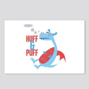 Huff & Puff Postcards (Package of 8)