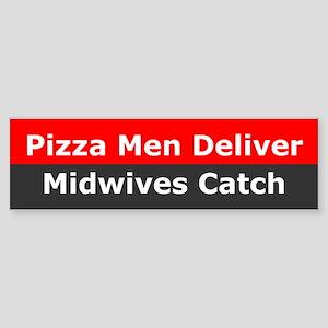 Midwives Catch Bumper Sticker