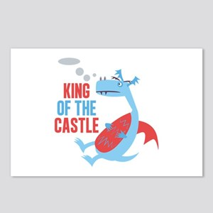 King Of The Castle Postcards (Package of 8)