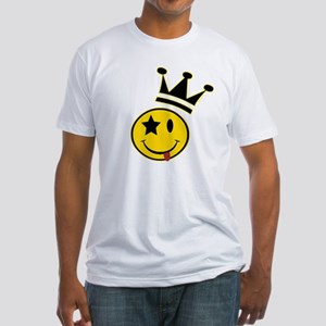 Smiley Crowned Fitted T-Shirt