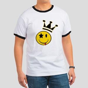 Smiley Crowned Ringer T