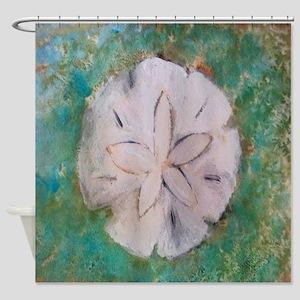 Sand dollar sea shell Shower Curtain