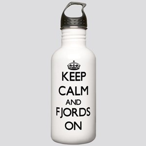 Keep Calm and Fjords O Stainless Water Bottle 1.0L