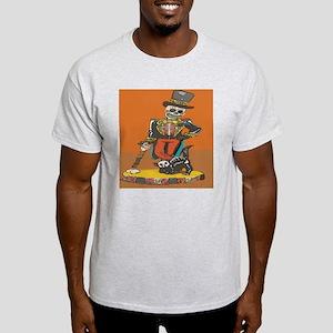 Day of Dead Skeleton  Light T-Shirt