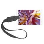 Native American Violets Large Luggage Tag