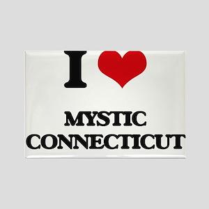 I love Mystic Connecticut Magnets