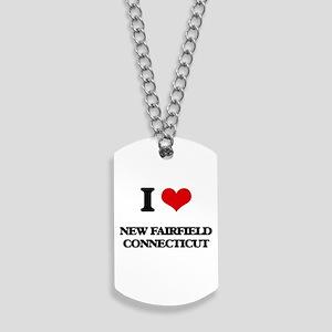 I love New Fairfield Connecticut Dog Tags
