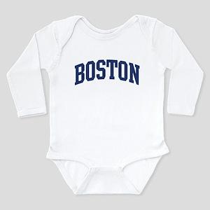 e012762899 BOSTON design (blue) Infant Bodysuit Body Suit
