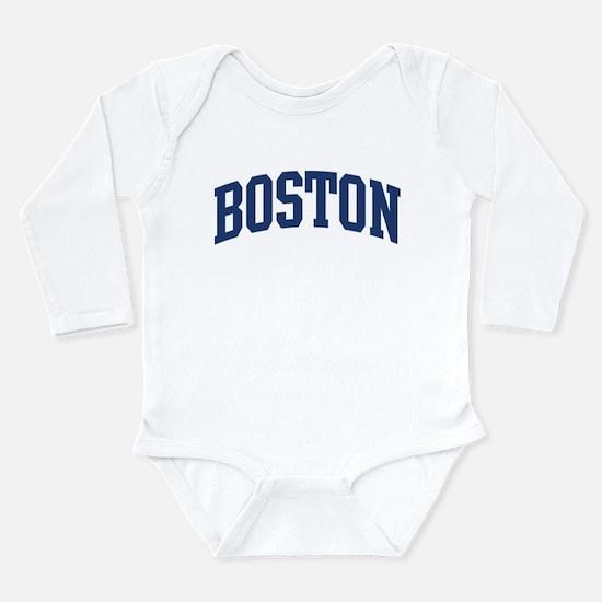 BOSTON design (blue) Infant Bodysuit Body Suit