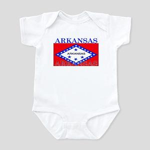 Arkansas State Flag Infant Bodysuit