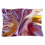 Native American Violets Pillow Case