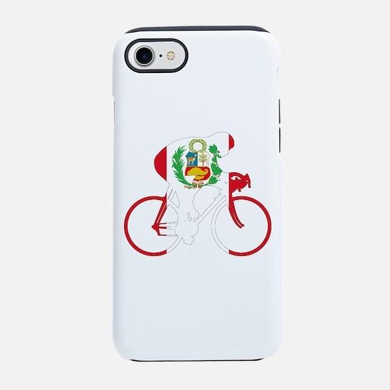 Peru Cycling iPhone 7 Tough Case