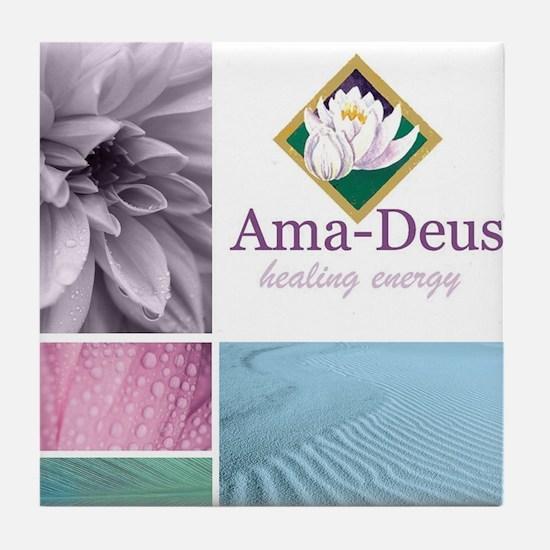Cool Deus Tile Coaster