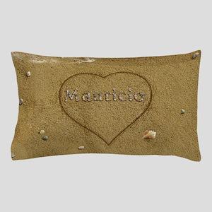 Mauricio Beach Love Pillow Case