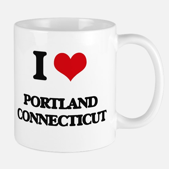 I love Portland Connecticut Mugs