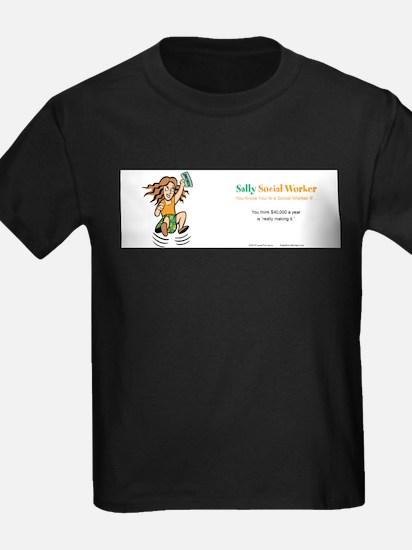 Sally Social Worker 40K T-Shirt