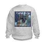 Fox Coat Kids Sweatshirt