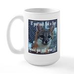 Fox Coat Large Mug
