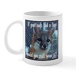 Fox Coat Mug