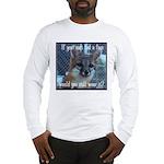 Fox Coat Long Sleeve T-Shirt