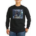 Fox Coat Long Sleeve Dark T-Shirt