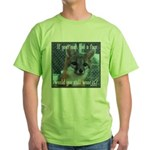 Fox Coat Green T-Shirt