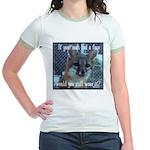 Fox Coat Jr. Ringer T-Shirt