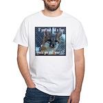 Fox Coat White T-Shirt