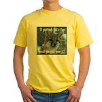 Fox Coat Yellow T-Shirt