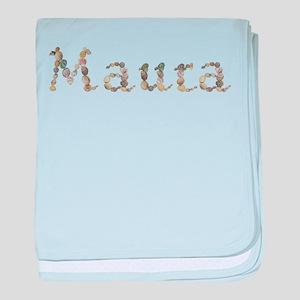 Maura Seashells baby blanket