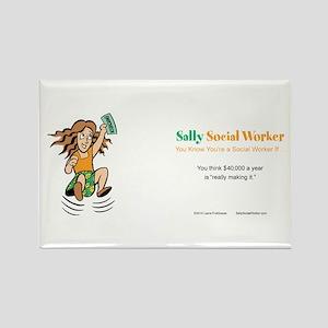 Sally Social Worker 40K Magnets