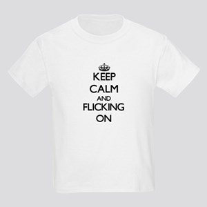 Keep Calm and Flicking Women's Cap Sleeve T-Shirt