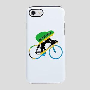 Tanzania Cycling iPhone 7 Tough Case