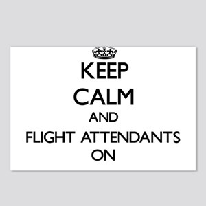 Keep Calm and Flight Atte Postcards (Package of 8)