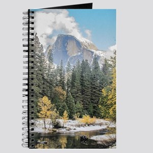 Autumn Mountain & River Scene Journal