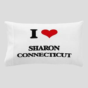 I love Sharon Connecticut Pillow Case