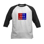 'Major League Survivor' Kids Baseball Jersey