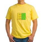'Major League Support' Yellow T-Shirt