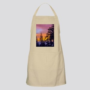 Evergreen Sunset Apron
